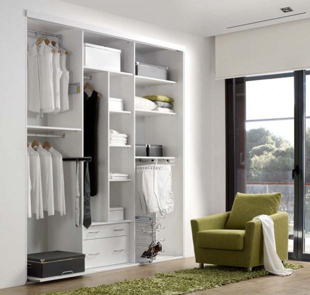 Armarios roperos a medida simple armario dora with - Ikea interior de armarios ...
