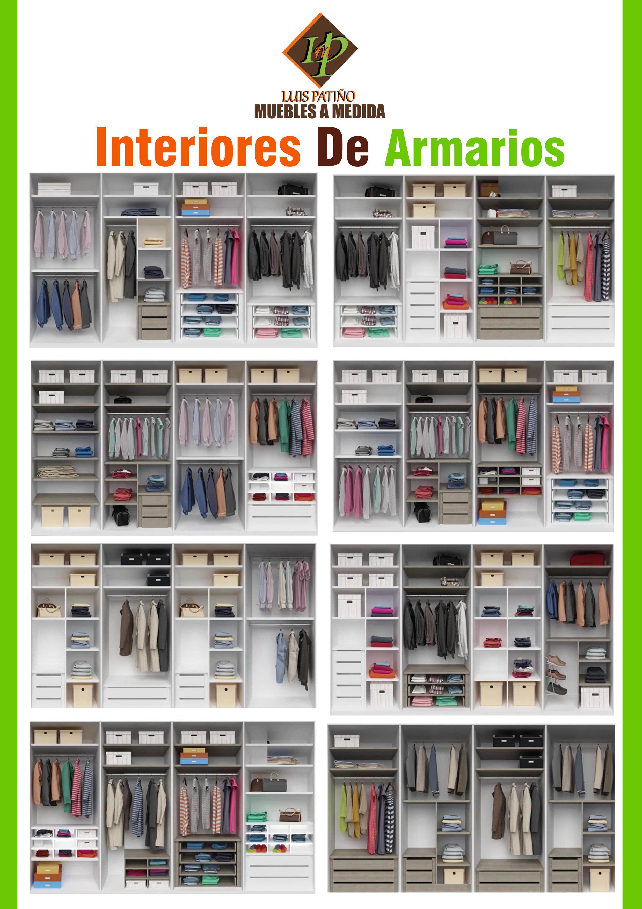 interiores de armarios luis patio - Interiores De Armarios