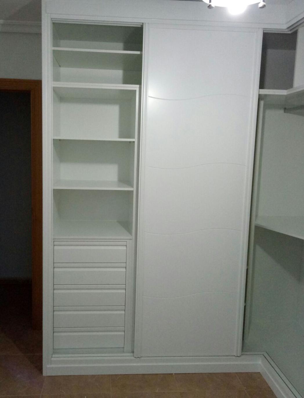 interior armario en forma de L
